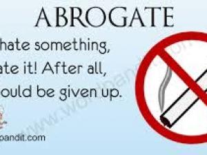 abrogate