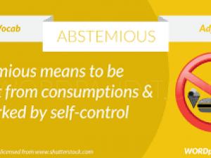 abstemious