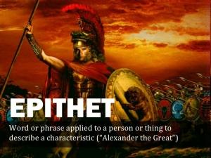 epithet