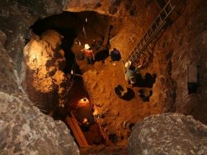 excavate