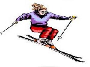 go skiing
