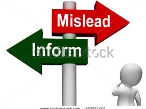 mislead