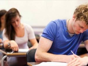 take an exam