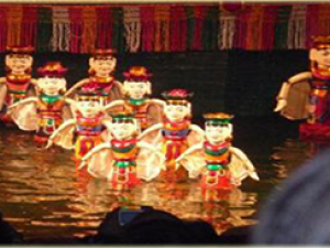 water puppet theatre