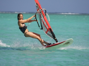 wind-surfing