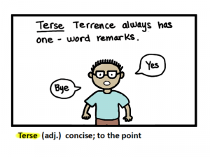 terse